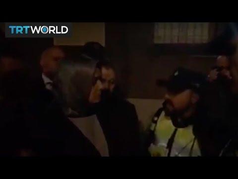 Dutch police stop Turkish minister near Rotterdam consulate