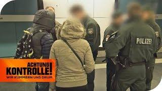 Schwarzfahrer aus Rumänien: Kein Wohnsitz kein Geld - was nun? | Achtung Kontrolle | kabel eins