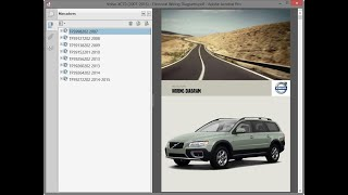 Volvo XC70 (2007-2015) - Electrical Wiring Diagrams - YouTube   2007 Volvo Xc70 Wiring Diagram      YouTube