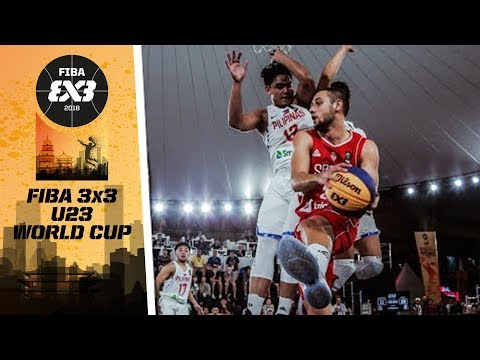 Serbia def. Philippines, 21-16 (REPLAY VIDEO) FIBA 3x3 U23 World Cup 2018