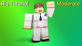 Roblox Rig Tutorial Moderate: Bends, IK Controls, and Userdata/XPresso (C4D)