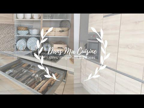 ❥ Dans ma cuisine - je vous montre mes astuces de rangement à petit prix