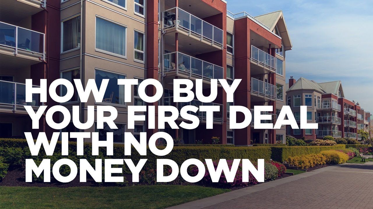 Your Guide To Real Estate Investing With No Money Down