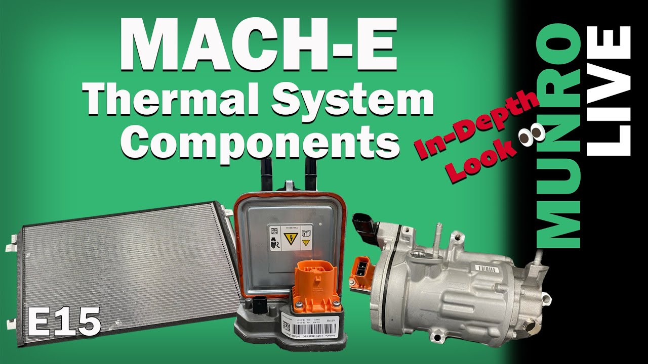Mach-E: EV Thermal System Components - In-Depth Look