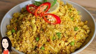 Tofu Scramble Fried Rice - Quick And Easy Vegan Recipe!