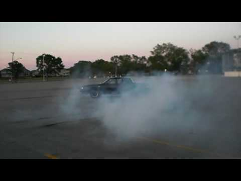 Buick Grand National Burnout Donuts