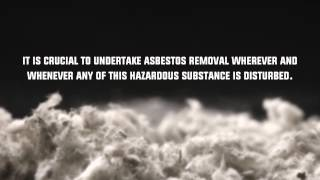 Removing Asbestos is Dangerous
