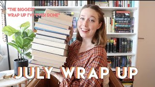 July Wrap Up!! (My Biggest Wrap up Ever lol)