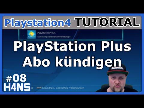 PlayStation Plus Abo kündigen PS4 Tutorial #08