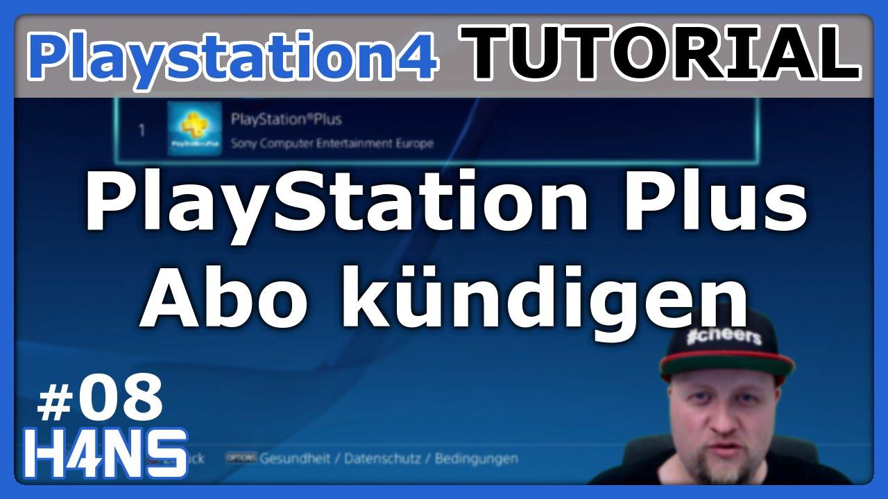 Playstation Plus Abo Kündigen Ps4 Tutorial 08 Youtube