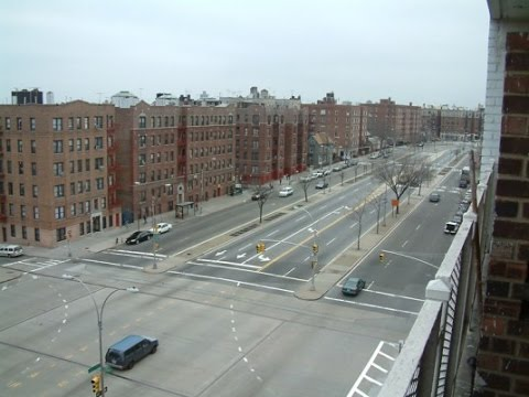 Dash Cam Video - Driving on Grand Concourse in the Bronx NYC Pt  2