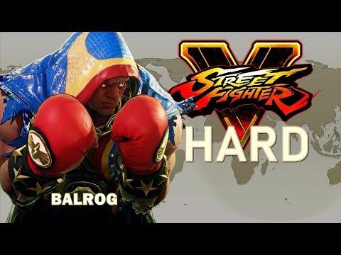 Street Fighter V - Balrog Arcade Mode (HARD)