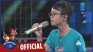 vietnam idol kids 2017 - quang linh tap hat duoi su huong dan cua ca sy vo ha tram
