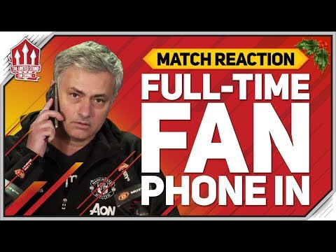 MOURINHO Shocking EXCUSE! Liverpool vs Manchester United Fan Call In!