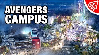 First Look at Disney's Marvel Theme Park - Avengers CAMPUS! (Nerdist News w/ Amy Vorpahl)