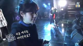 Download IU was dancing to BTS ? #PaletteTour in Busan