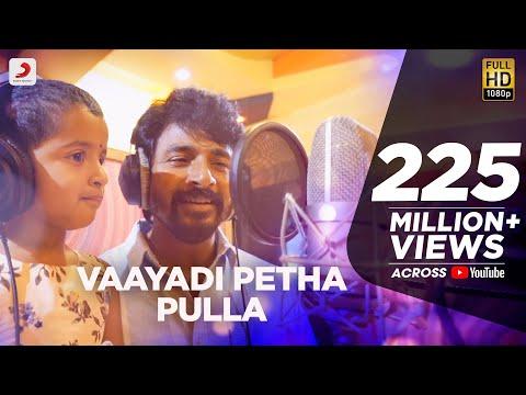Kanaa - Vaayadi Petha Pulla Lyric | AishwaryaRajesh, Sivakarthikeyan