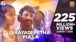 Kanaa - Vaayadi Petha Pulla Lyric   AishwaryaRajesh, Sivakarthikeyan   Dhibu Ninan Thomas