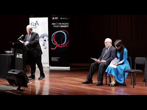 Joseph Stiglitz: Crawford School Oration 2014
