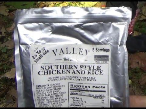 Valley Food Storage 25 YR Shelf Life Emergency Food