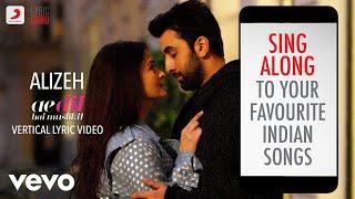 Gambar cover Alizeh - ADHM |Official Bollywood Lyrics | Ash King | Arijit Singh | Shashwat Singh