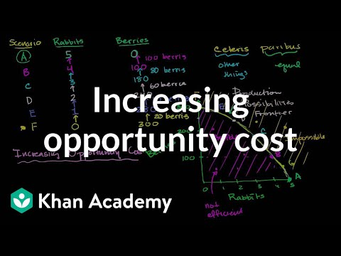 Increasing opportunity cost | Microeconomics | Khan Academy