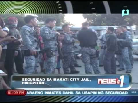 News@1: Seguridad sa Makati City Jail, hinigpitan || August 30, 2013