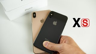iPhone XS vs XS Max Unboxing & Comparison!