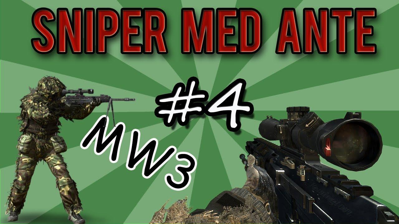 Mw3 Live Com På Svenska: SNIPER MED ANTE # 4 (RSASS På Lockdown)