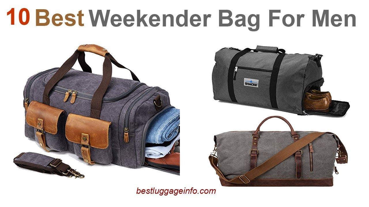 0b0198edff8e Best Weekender Bag For Men