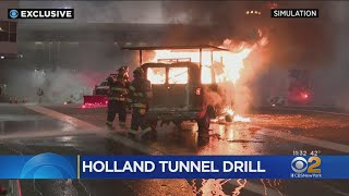 Exclusive: Holland Tunnel Emergency Response Exercise