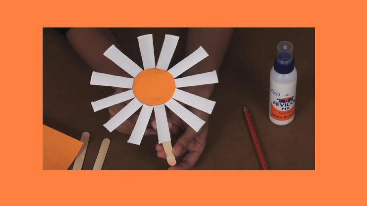 Youtube Art And Craft: How To Make A Papercup Flower