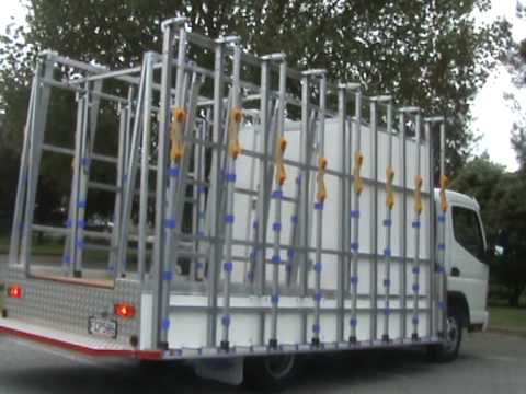 The Glass Racking Company Contractor site truck
