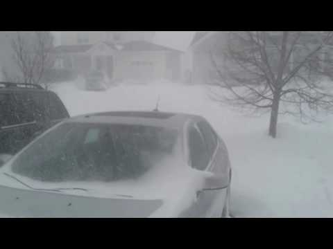 Blizzard of 2017 Cole Harbour NS