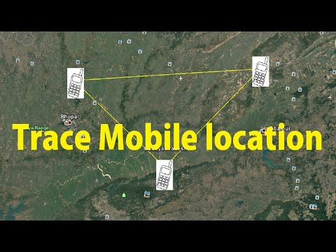 How To Trace Mobile Number Location   GPS and How it Works? [Hindi]
