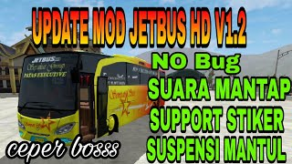 Review Update mod jetbus hd v1 2 BUSSID V2 9 abdul dudu gameplay android hd