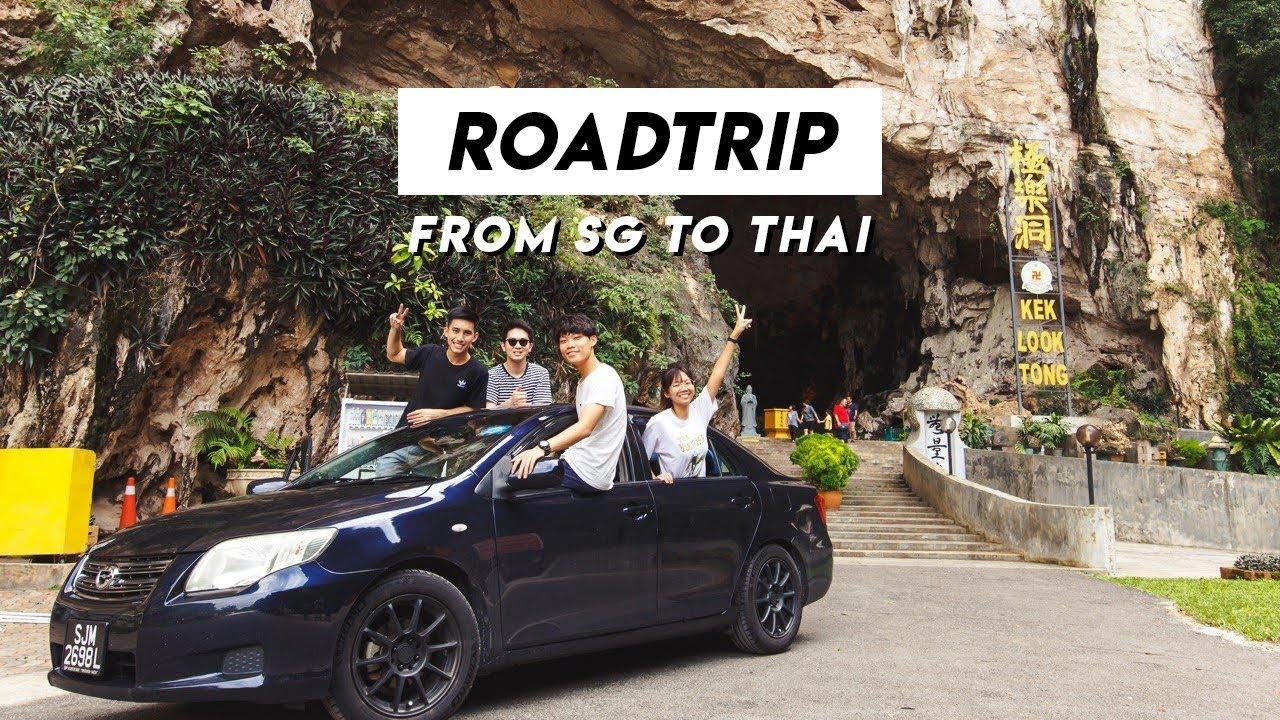 Roadtrip 🚗  • Singapore to Thailand \u0026 BACK  (PART 1)