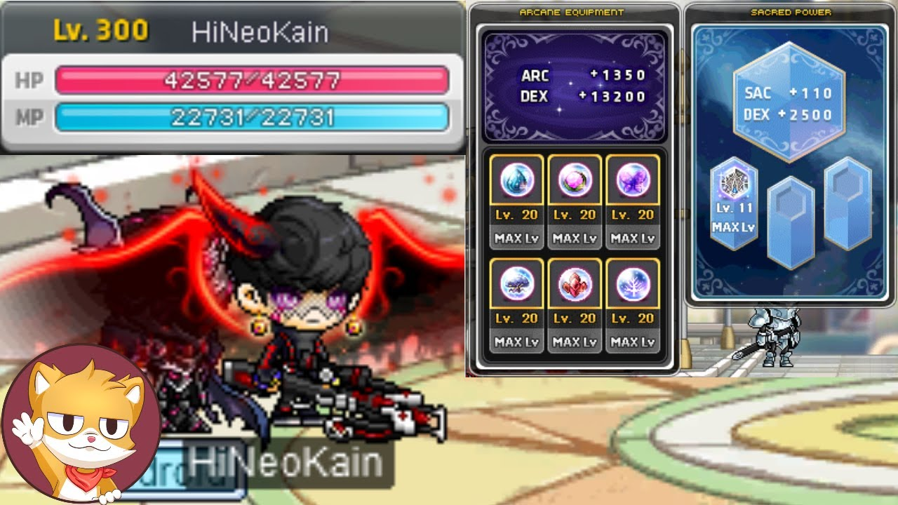 What Max Level is Like In MapleStory | GMS Tespia