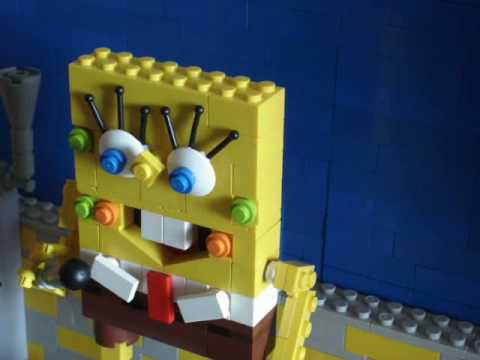 "Lego Spongebob ""It's the best day ever"""