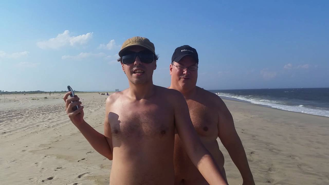 Sandy Hook Nude Beach Men - Porno Photo-4747