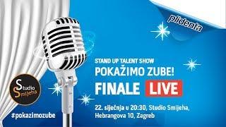 """FINALE Stand up talent showa """"Pokažimo zube"""" - Season 2018 Part I"""