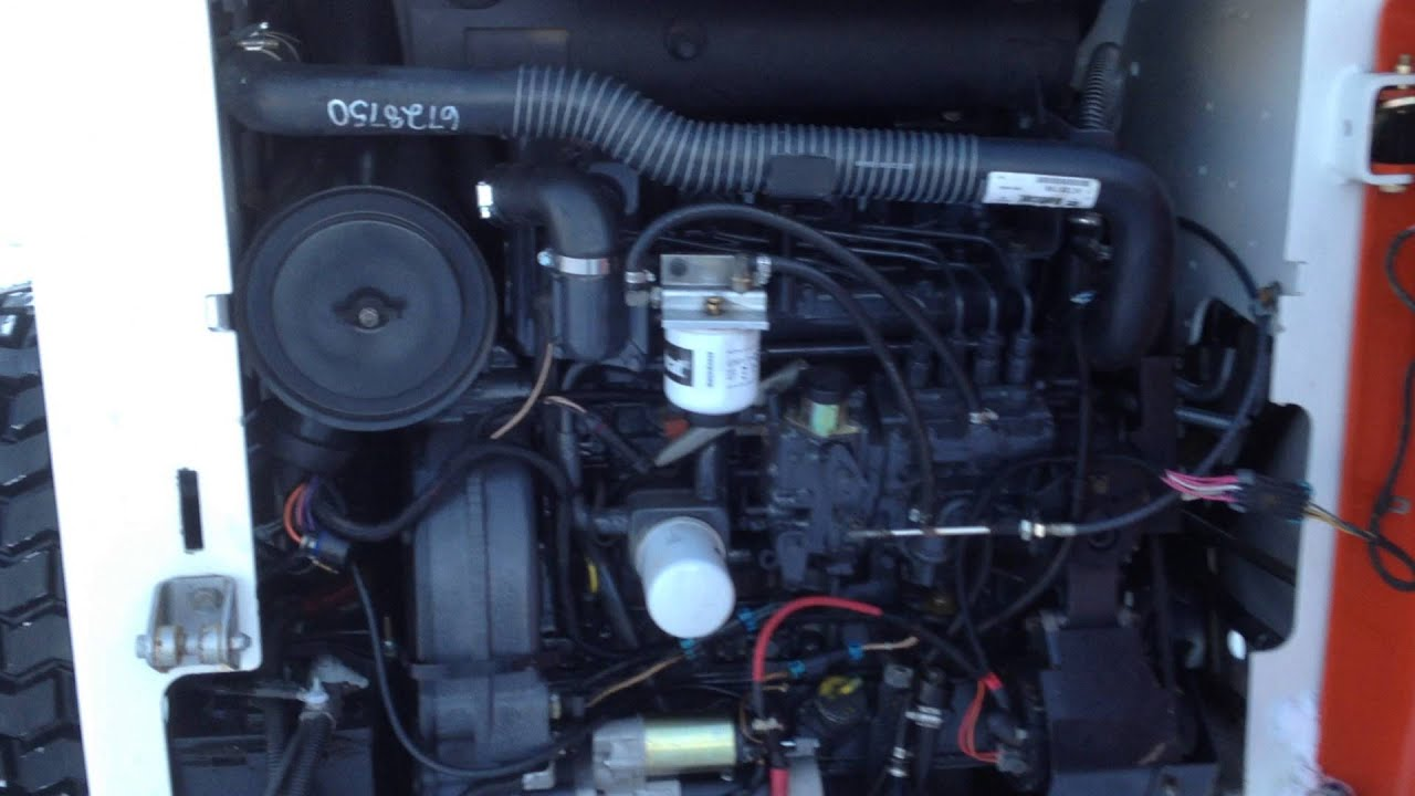 Bobcat S250 motor shot