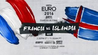 FRANCIA vs. ISLANDIA HOY