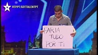 Wiadomość dla byłej dziewczyny w portugalskim Mam Talent [NAPISY PL]
