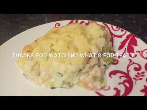 Super Delicious! Easy Creamy Fish Pie Recipe!