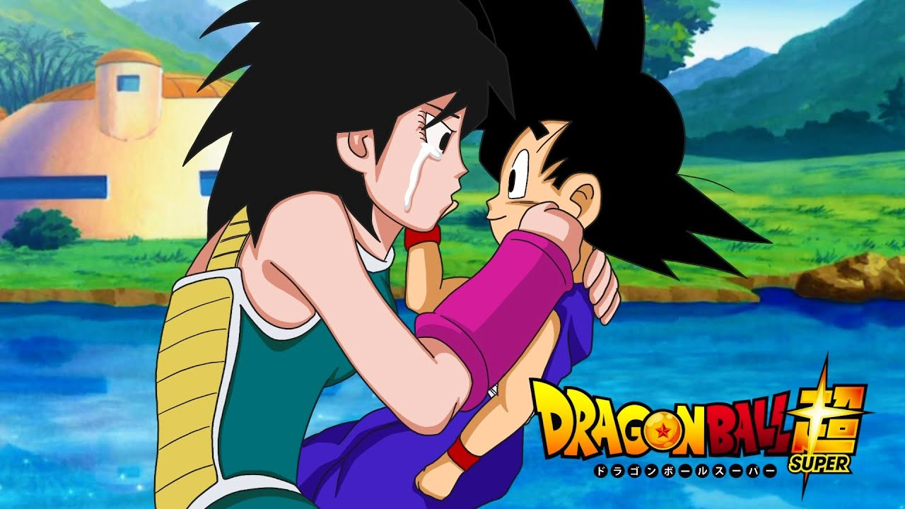 Goku Meets Gine On Earth Finally Meets His Mother Youtube