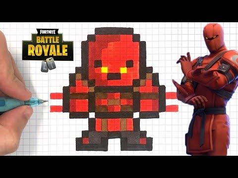 Pixel Art Fortnite Skin Chevalier Noir Fortnite Free On Pc
