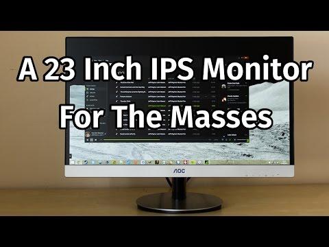 AOC I2369VM IPS Monitor Review