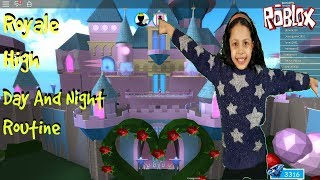 Roblox Royale High  Morning  Day and Night Routine