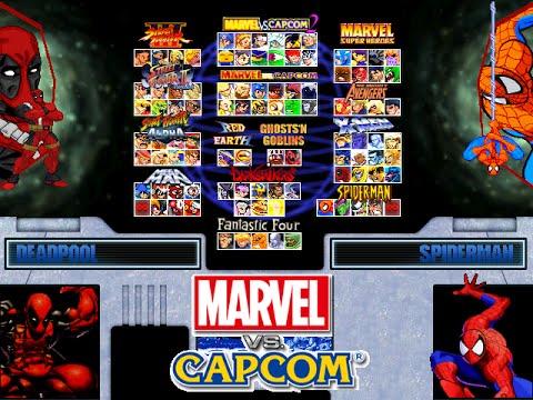 Marvel Vs Capcom - Eternity of Heroes #Mugen #AndroidMugen - 동영상